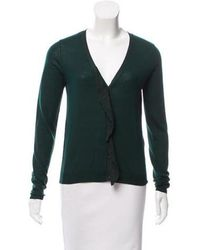 Dorothee Schumacher - Ruffled Button-up Cardigan - Lyst
