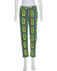 Jeremy Scott - Printed Mid-rise Jeans W/ Tags Multicolor - Lyst