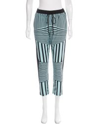 Clover Canyon - Striped Mid-rise Pants W/ Tags - Lyst