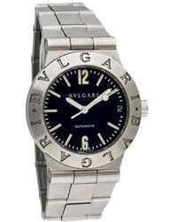 BVLGARI - Diagono Automatic Watch - Lyst