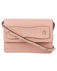 7a0e101b325f Lyst - Red Valentino Leather Flap Bow Crossbody Bag Navy in Metallic