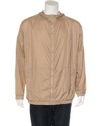 Bottega Veneta - Lightweight Zip-up Jacket Beige - Lyst