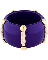 Louis Vuitton - Purple Shine Bracelet Gold - Lyst