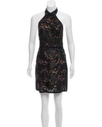 3.1 Phillip Lim - Halter Lace-accented Dress W/ Tags Black - Lyst