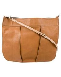 Reed Krakoff - Grained Leather Crossbody Bag Brown - Lyst