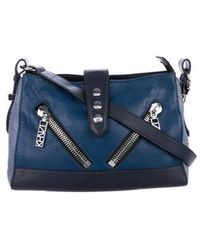 KENZO - Large Kalifornia Bag Blue - Lyst