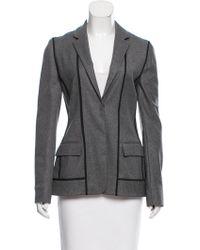 Reed Krakoff - Wool Notch-lapel Jacket W/ Tags Grey - Lyst