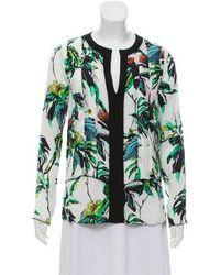 Proenza Schouler - Silk Floral Top - Lyst