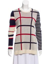 Camilla & Marc - Patterned Knit Sweater Multicolor - Lyst