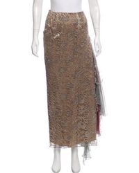 Christian Lacroix - Lace Maxi Skirts - Lyst