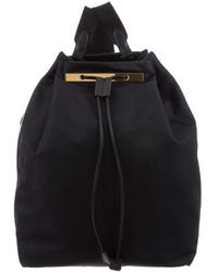The Row - Nylon Backpack 11 Navy - Lyst