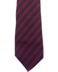 Dior Homme - Striped Silk Tie - Lyst