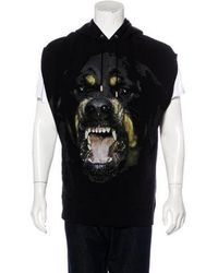 Givenchy - Rottweiler Sleeveless Hoodie - Lyst