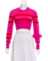 Maggie Marilyn - Cropped Knit Sweater W/ Tags - Lyst