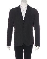 Roberto Cavalli - Silk Textured Blazer Grey - Lyst