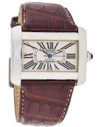 Cartier - Divan Watch - Lyst