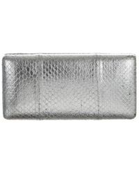 KOTUR - Embossed Sunglasses Case Silver - Lyst
