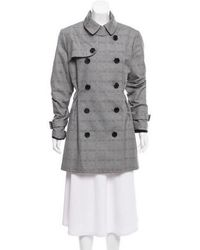 Dior - Double-breasted Structured Jacket Grey - Lyst