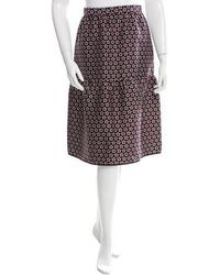 Mother Of Pearl - Star Printed Knee-length Skirt W/ Tags Navy - Lyst