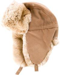 Loro Piana - Chinchilla-trimmed Cashmere Hat - Lyst