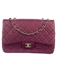 4d18afdfc4fa Lyst - Chanel 2017 Quilted Single Flap Bag Gold in Metallic