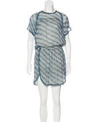 Étoile Isabel Marant - Silk Printed Mini Dress - Lyst