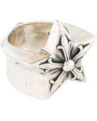 Chrome Hearts - Star Ring Silver - Lyst