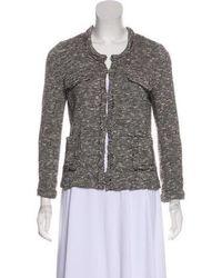 Lyst Jcrew Jcrew New Lightweight Sweater Blazer In Gray