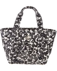 Charlotte Olympia - Printed Ami Petite Tote Black - Lyst