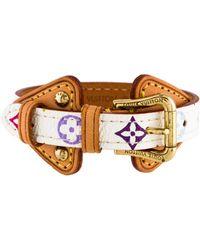 Louis Vuitton - Theda Monogram Wrap Bracelet Gold - Lyst