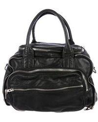 Alexander Wang - Leather Eugene Bag Black - Lyst
