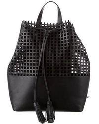 Loeffler Randall - Laser Cut Leather Backpack - Lyst