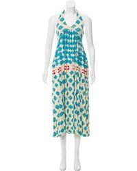 Diane von Furstenberg - Sleeveless Midi Dress - Lyst