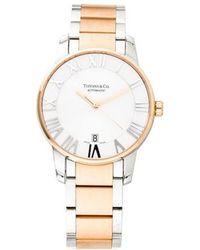 Tiffany & Co. - Atlas 3-hand Watch - Lyst