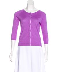 Narciso Rodriguez - Cashmere-blend Cardigan - Lyst