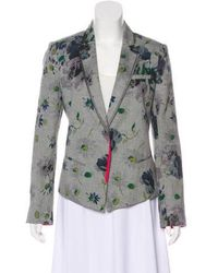 Elizabeth and James - Lightweight Floral Blazer Multicolor - Lyst