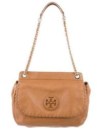 Tory Burch - Marion Saddle Bag Gold - Lyst