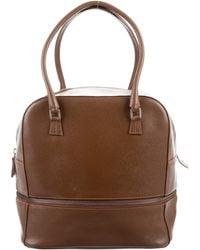 Jean Paul Gaultier - Leather Handle Bag Brown - Lyst
