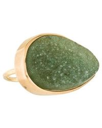 Melissa Joy Manning - 14k Druzy Cocktail Ring Yellow - Lyst