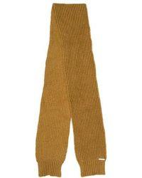 MICHAEL Michael Kors - Michael Kors Chunky Knit Scarf Beige - Lyst