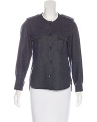 Isabel Marant Virgin Wool Button-Up Top Cheap Price For Sale Buy Cheap Best Wholesale Largest Supplier For Sale 6mHbNTK4