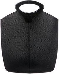 Louis Vuitton - Epi Demi Lune Tote Black - Lyst