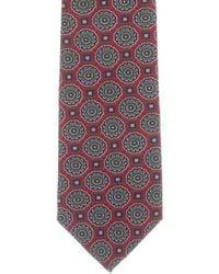 Dior - Vintage Patterned Silk Tie Multicolor - Lyst