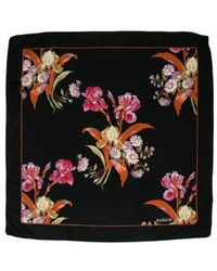 Cacharel - Floral Patterned Scarf - Lyst