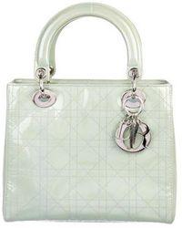fe8be0b0cb87 Lyst - Dior Esprit Tokyo Medium Lady Bag in Metallic