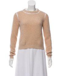 VEDA - Alpaca-blend Knit Sweater Tan - Lyst