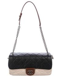 Chanel - Country Chic Flap Bag Black - Lyst