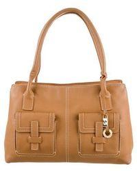 Loro Piana - Odessa Leather Bag Tan - Lyst