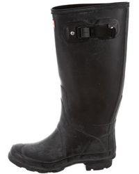 HUNTER - Mid-calf Rain Boots - Lyst