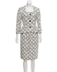 Givenchy - Vintage Printed Skirt Suit - Lyst